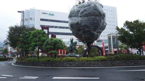 真田幸村の騎馬像