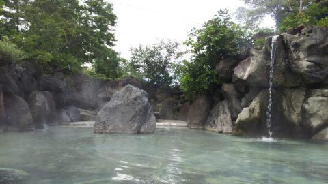 赤倉温泉大露天風呂「滝の湯」