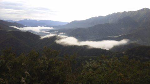 枝折峠の滝雲