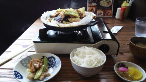 下呂温泉 甚呂 鶏ちゃん定食