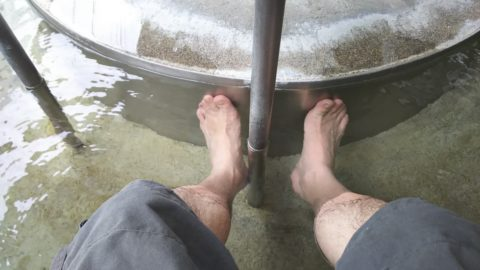下呂温泉 ビーナスの足湯