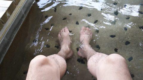 下呂温泉 田の神の足湯