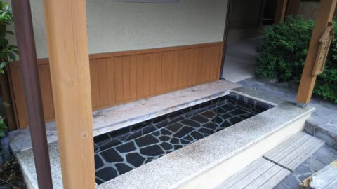 下呂温泉 下留磨の足湯