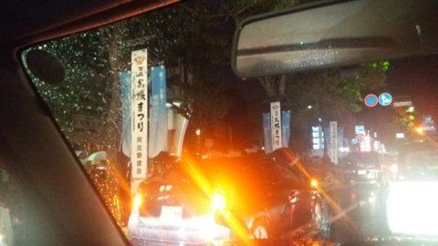 姫路城大手門駐車場