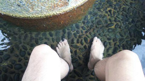 片山津温泉 足の湯えんがわ