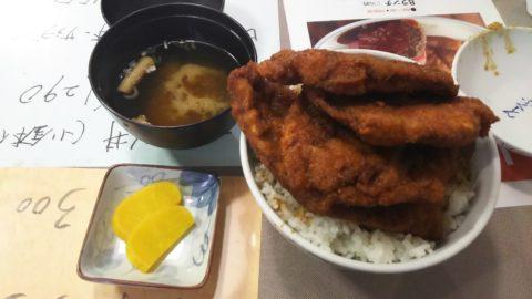 ソースカツ丼「レストラン ふくしん」