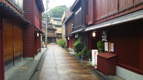 金沢三茶屋街