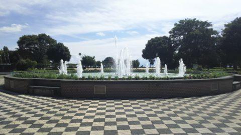 豊公園噴水