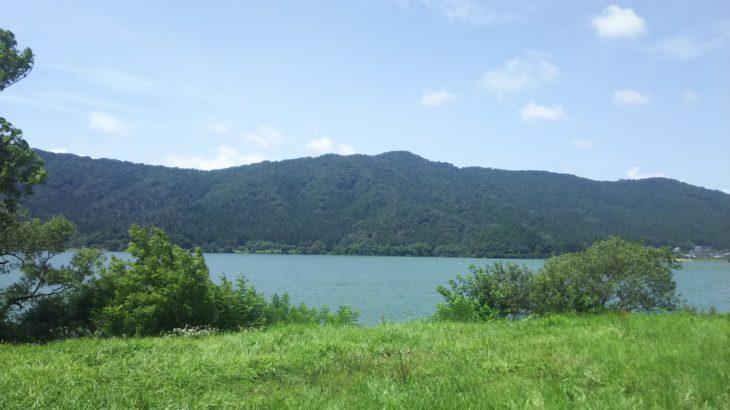 「BIWA-TEKU(ビワテク)」で「長浜市 余呉湖ぐるっと一周コース」を歩いてみた