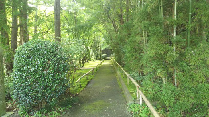 龍潭寺(石田三成公銅像前)