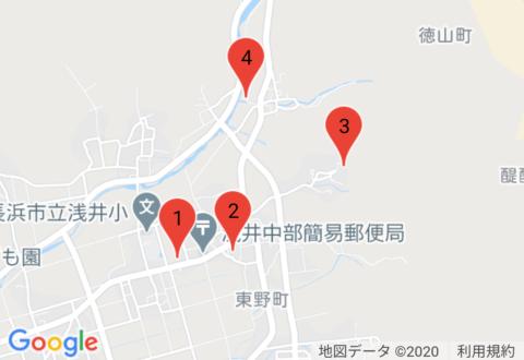 「BIWA-TEKU(ビワテク)」長浜市 浅井下草野地域巡りコース