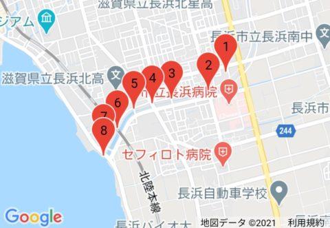 「BIWA-TEKU(ビワテク)」長浜市 長浜新川コース