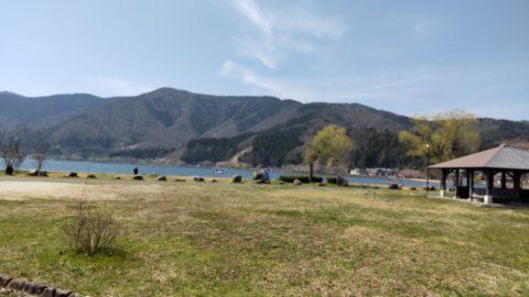 琵琶湖「自然公園 湖岸緑地大浦園地」