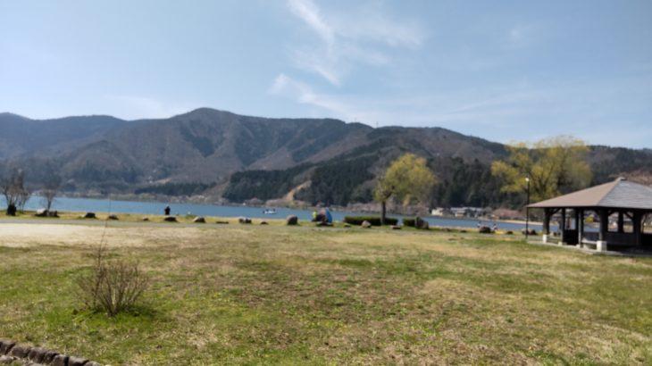 琵琶湖畔のデイキャンプ・休息にオススメの無料スポット「自然公園 湖岸緑地大浦園地」