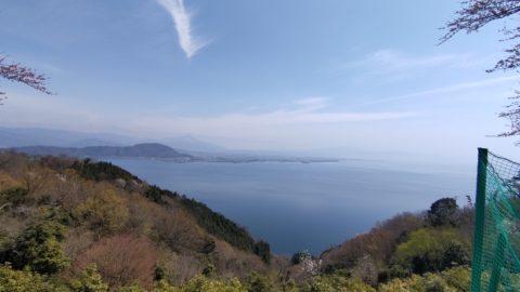 奥琵琶湖パークウェイ つづら尾崎展望台