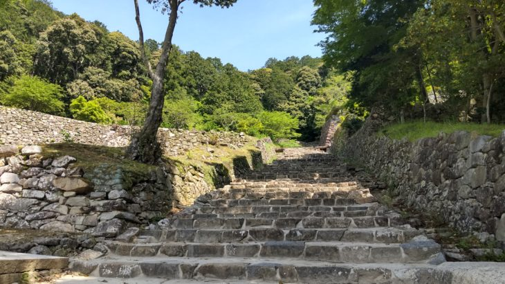 「BIWA-TEKU(ビワテク)」で「近江八幡市 安土信長コース」を歩いてみた