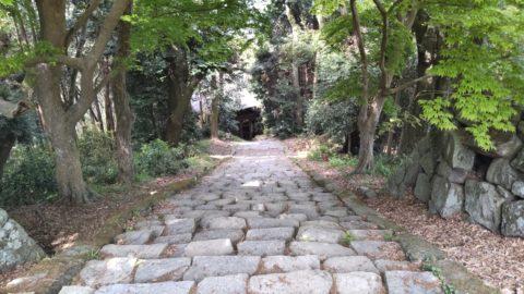 安土城跡 二王門