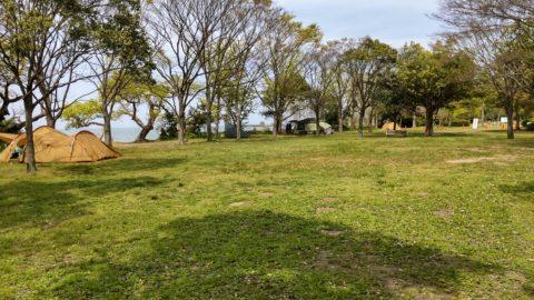 琵琶湖「湖岸緑地 南三ツ谷」