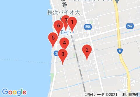 「BIWA-TEKU(ビワテク)」長浜市 「田村」てくてく散策コース