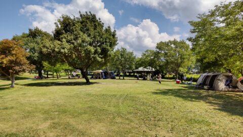 グリーンパーク山東のオートキャンプサイト