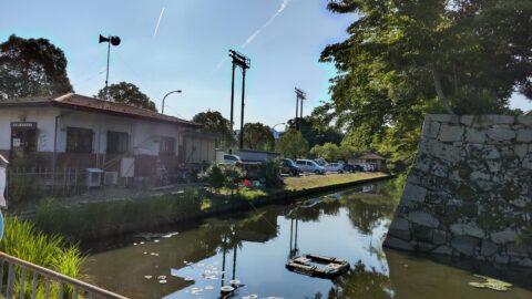 彦根市金亀公園無料駐車場
