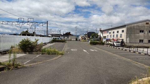 虎姫駅駐車場