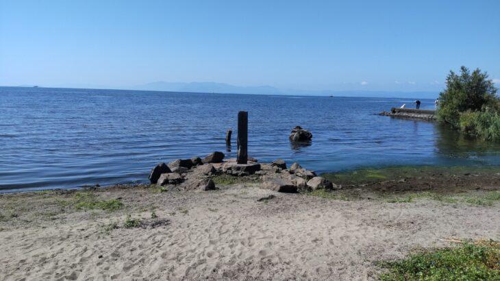 「BIWA-TEKU(ビワテク)」で「長浜市 豊公園とパワースポット竹生島コース」を歩いてみた