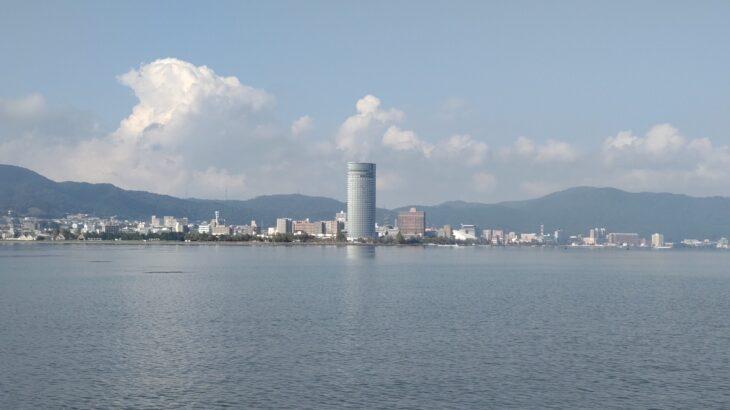 琵琶湖畔のデイキャンプ・バーベキューにオススメの無料スポット「湖岸緑地 帰帆島-1」