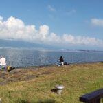 琵琶湖「湖岸緑地 帰帆島-3」