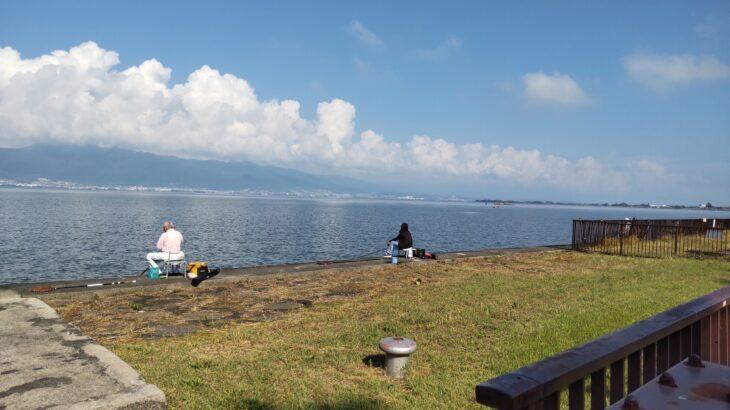 琵琶湖畔のデイキャンプ・バーベキューにオススメの無料スポット「湖岸緑地 帰帆島-3」